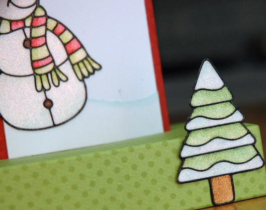 Christmas Card Class - Popup Card sneak
