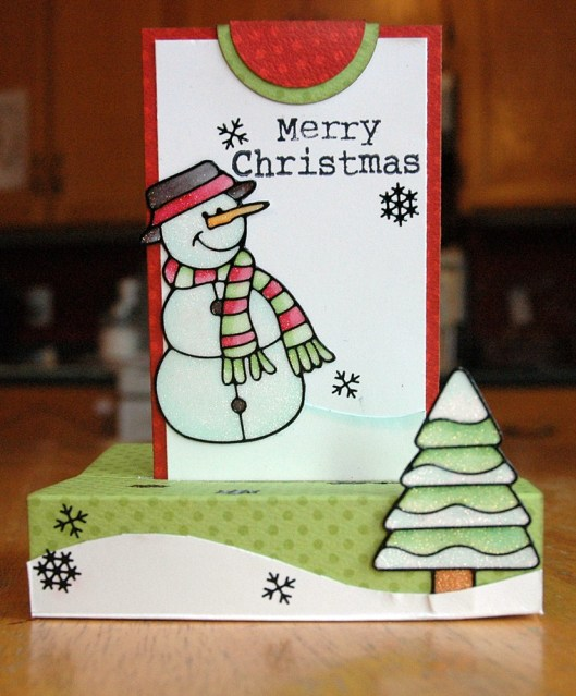 Christmas Card Class - Popup Card