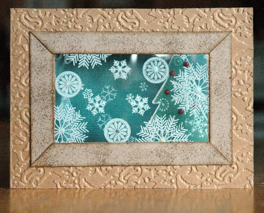Christmas Card Class - window card