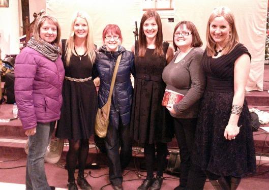 Joyce, Karen, me, Theresa, Tricia, Maureen