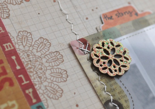 every picture - doily closeup