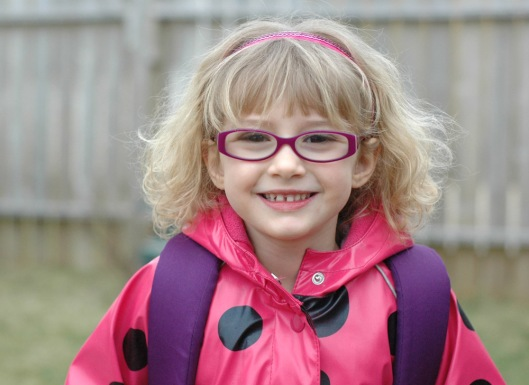 8:10am - Molly off to school