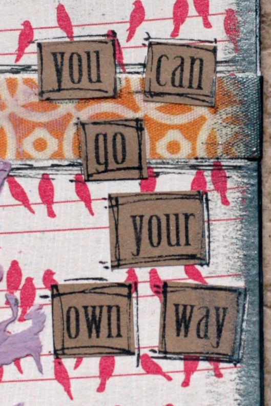 go your own way - words