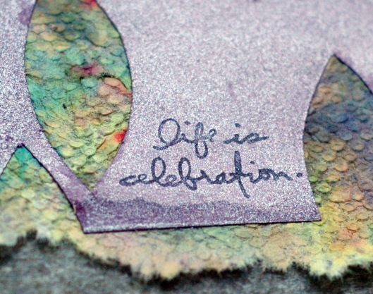 life is celebration - words