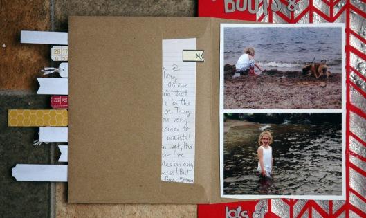 wading - envelope