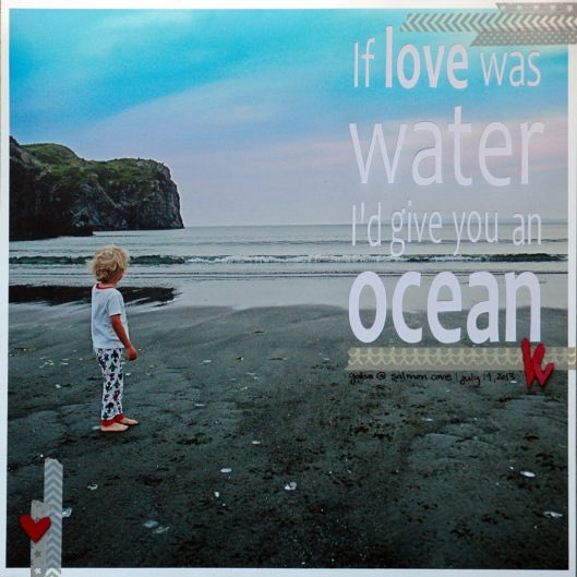 if love was water
