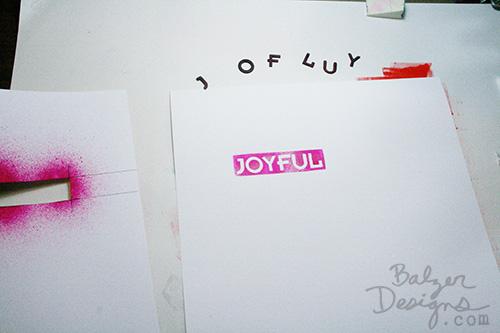 joyful - Balzer Designs