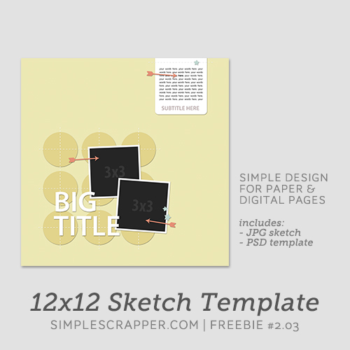 sketch template