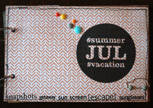 summer vacation mini - cover
