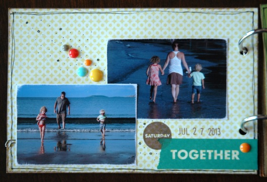 summer vacation mini - together page