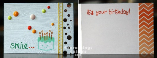 cake and enamel dots
