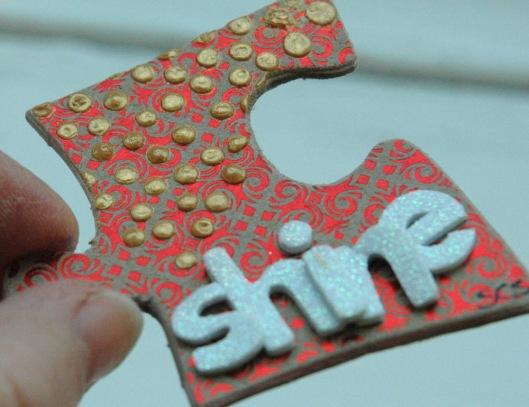 shine - shimmer