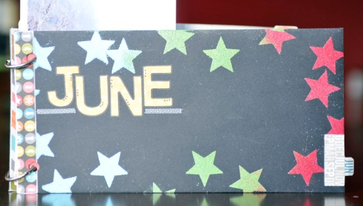 summer fun - june envelope