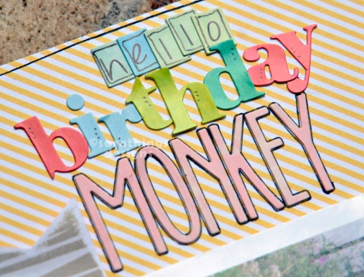 hello birthday MONKEY title
