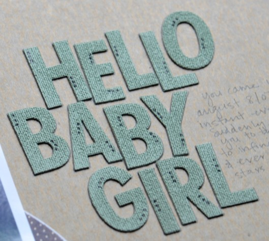 hello baby girl title