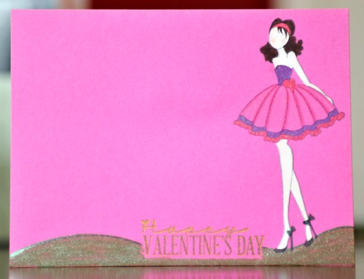 valentine envelope front