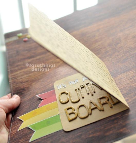 cutting board journalling