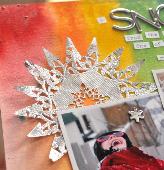 snow day joys snowflake