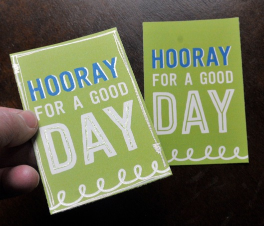 lunch box notes - green